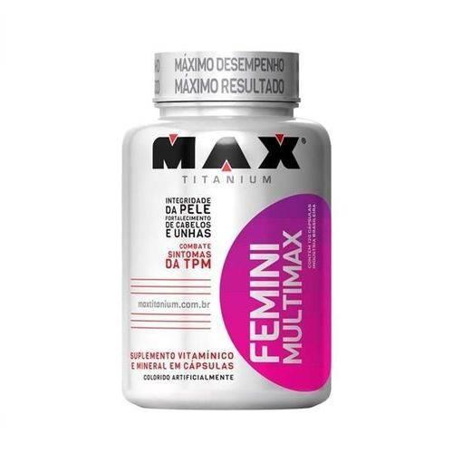 Multimax Femme - 60 Capsulas - Max Titanium