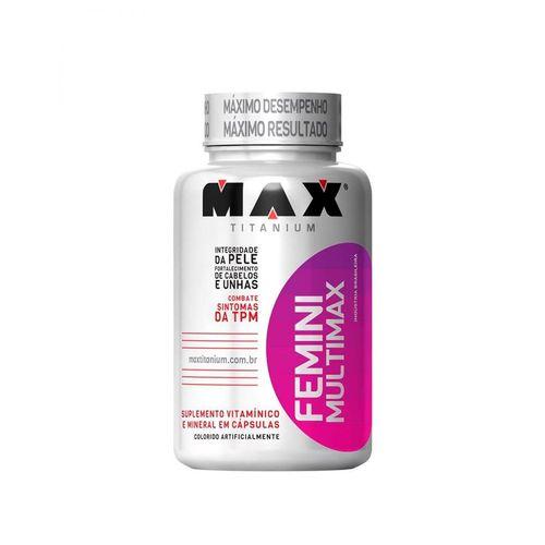 Multimax Femme 60 Cápsulas - Max Titanium