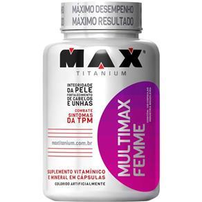 Multimax Femme Max Titanium - 120 Cápsulas