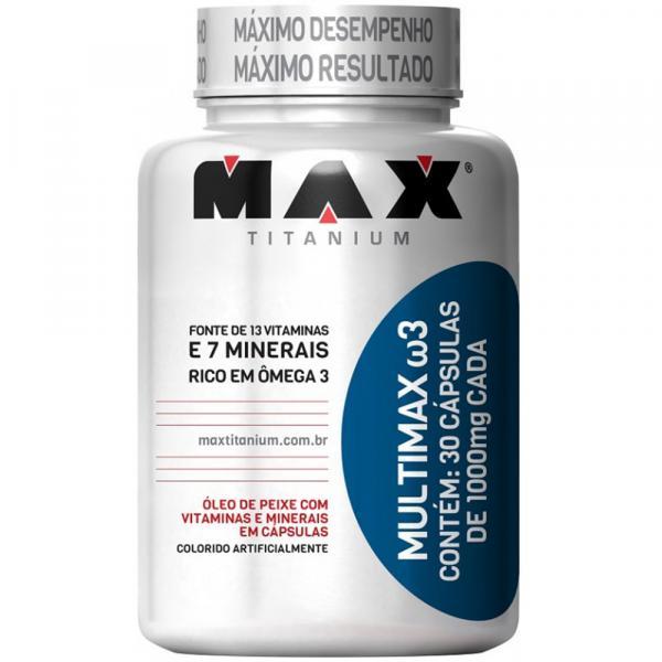 Multimax W3 com 30 Cápsulas - Max Titanium - Max Titanium