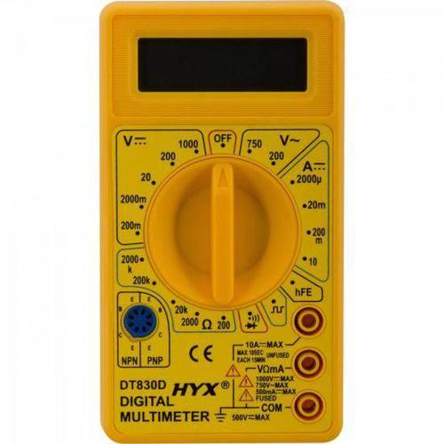 Tudo sobre 'Multímetro Digital Dt830d Hyx'