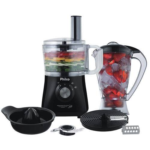 Tudo sobre 'Multiprocessador All In One Citrus 800w Preto Philco'