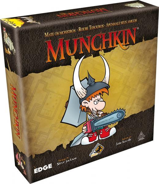 Munchkin - Jogo de Cartas - GalÃpagos - Galãpagos 3