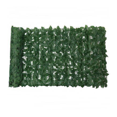 Muro Inglês Artificial com Folhas de Ficus - Tamanho 2mts X1mt