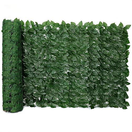 Muro Inglês com Folha de Ficus Artificial Tamanho 2mts X 1mt