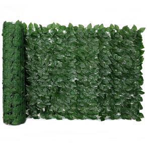Muro Inglês com Folha de Ficus Artificial-Tamanho 2mts X 1mt
