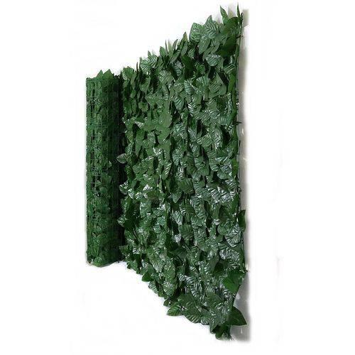 Muro Inglês com Folhas Ficus Artificial - Tamanho 3mts X 1mt