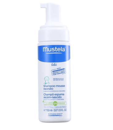 Mustela Shampoo Espuma Recem Nascido 150ml