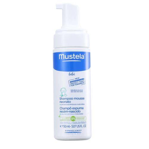 Mustela Shampoo Espuma Recem Nascido