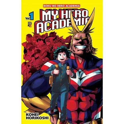 Tudo sobre 'My Hero Academia 1 - Jbc'