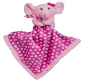 Naninha para Bebê Kitstar - Elefante Rosa