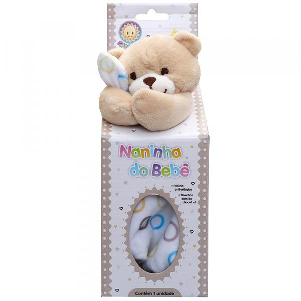 Naninha para Bebê Kitstar Urso Bege