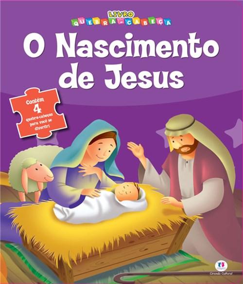 Nascimento de Jesus, o - Livro Quebra-Cabeca
