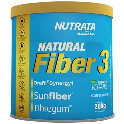 Tudo sobre 'Natural Fiber 3 200g Nutrata'