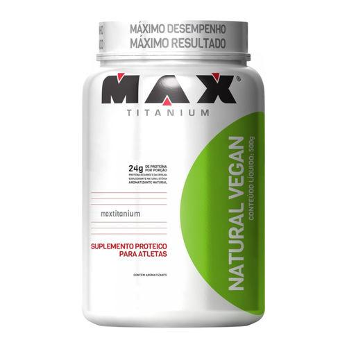 Natural Vegan 500g Baunilha Max Titanium