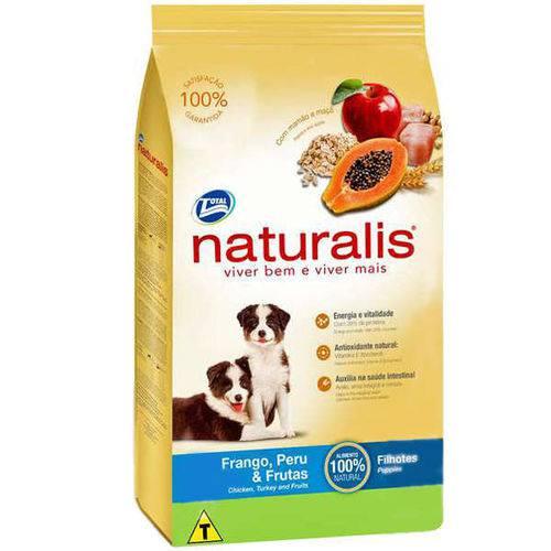 Tudo sobre 'Naturalis Cão Filhote Frango/peru/frutas 2 Kg'