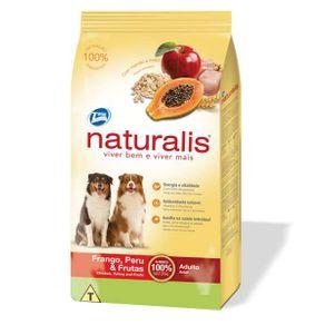 Tudo sobre 'Naturalis Frango, Peru e Frutas Cães Adulto 15kg 15kg'