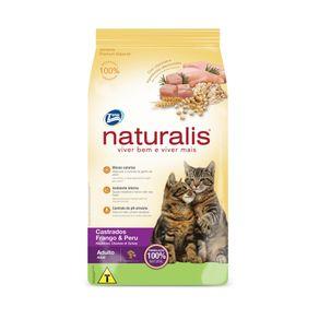 Tudo sobre 'Naturalis Gatos Castrados Frango e Peru 10,1kg'