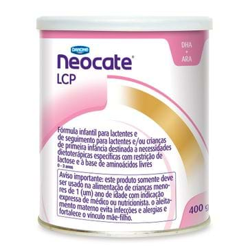Tudo sobre 'Neocate Danone LCP 400g'