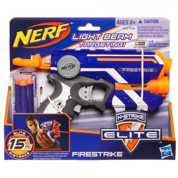 Nerf Lançador de Dardos Strike Elite Firestrike A0709 Hasbro