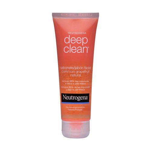 Neutrogena Deep Clean Gel de Limpeza Grapefruit com 80 Gramas