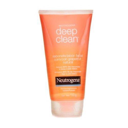 Neutrogena Deep Clean Gel Limpeza Grapefruit 150g