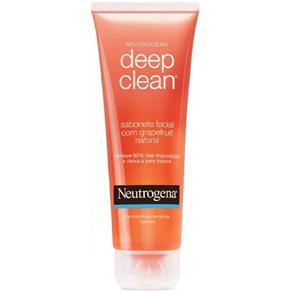 Neutrogena Deep Clean Grapefruit Sabonete Facial 80g - Gel