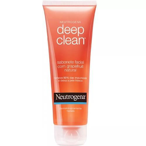 Neutrogena Deep Clean Grapefruit Sabonete Facial 80g