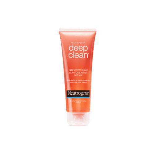 Neutrogena Deep Clean Sabonete Líquido Facial C/ Grapefruit 80g