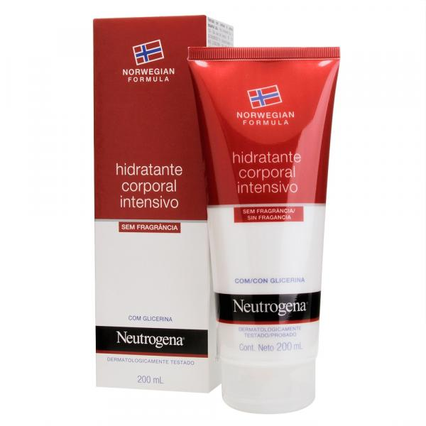 Neutrogena Norwegian Hidratante Corporal Sem Fragância - 200ml - Johnson Johnson