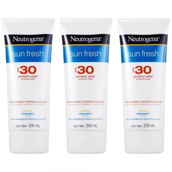 Neutrogena Protetor Solar Fps30 200ml (Kit C/03)