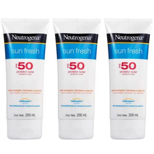 Neutrogena Protetor Solar Fps50 200ml (kit C/03)