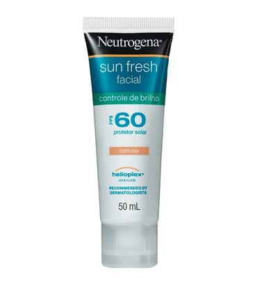 Neutrogena Sun Fresh com Cor Protetor Solar FPS 60 50ml