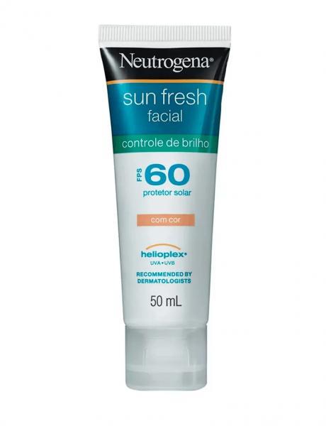 Neutrogena Sun Fresh com Cor Protetor Solar FPS 60