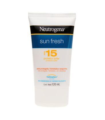 Neutrogena Sun Fresh Protetor Solar FPS 15 120ml