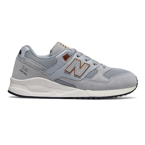 New Balance | Tênis 530 Casual Feminino Cinza - 34
