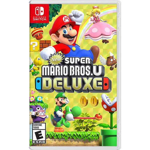 Tudo sobre 'New Super Mario Bros U Deluxe Novo - Switch'