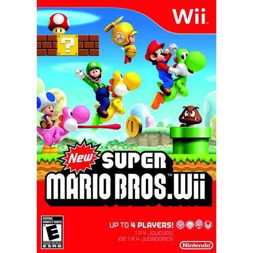 Tudo sobre 'New Super Mario Bros - Wii'