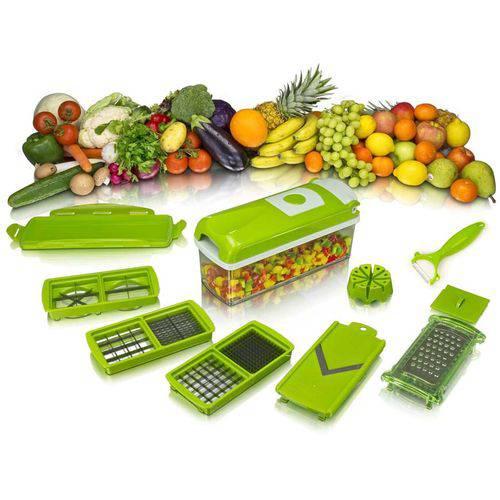 Tudo sobre 'Nicer Dicer Plus Processador Cortador de Alimentos Legumes'