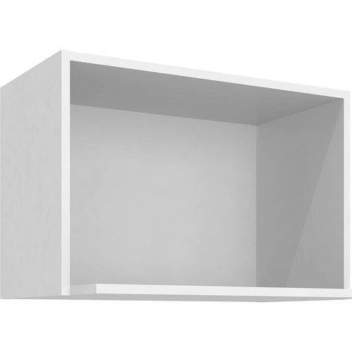Tudo sobre 'Nicho de Microondas 60x40 CZ512 - Branco - Árt In Móveis'