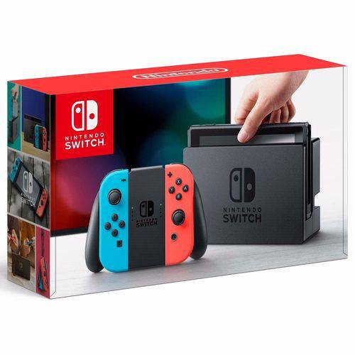 Tudo sobre 'Nintendo Switch 32gb Neon'