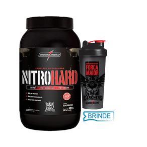 Nitro Hard (907G) - Darkness - Integralmédica - Baunilha - BAUNILHA
