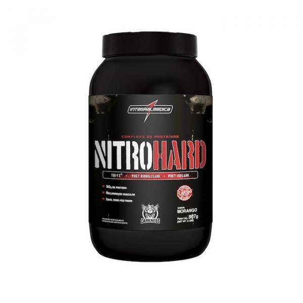 Nitro Hard 907g Morango Integralmedica