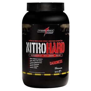 NitroHard Darkness (907g) - Integralmédica - Morango - 907 G