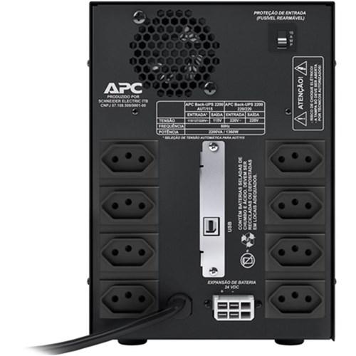Nobreak Apc Back-Ups 2200Va Bivolt/115V - Bz2200bi-Br