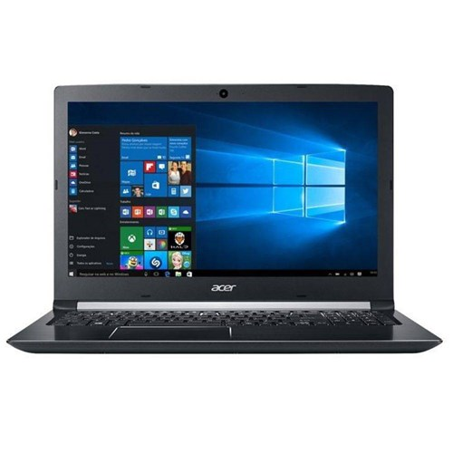 "Notebook Acer Aspire 5, Intel Core I5 7200U, 1TB, 8GB, Windows 10, 15.6"" - A515-51G-72UX"