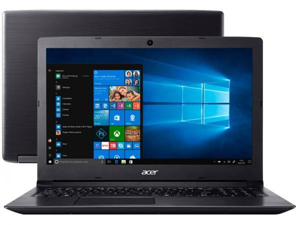 "Notebook Acer Aspire 3 A315-53-34Y4 Intel Core I3 - 4GB 1TB 15,6"" Windows 10"