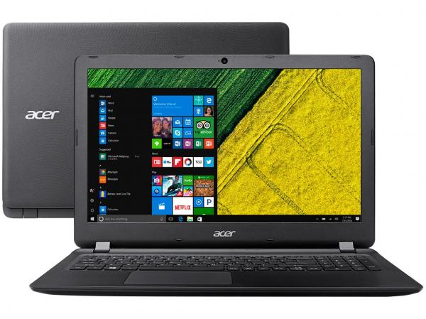 "Notebook Acer Aspire ES15 ES1-572-3562 - Intel Core I3 4GB 1TB 15.6"" Windows 10"