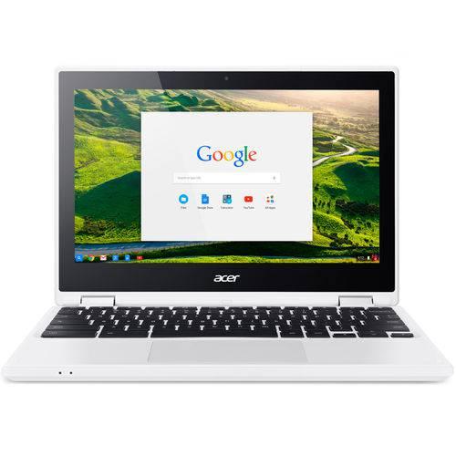Tudo sobre 'Notebook Acer Chromebook CB5-132T-C9F1, Intel Celeron, Tela, 11.6'', Memória 4GB, Chrome Os™ - Branc'