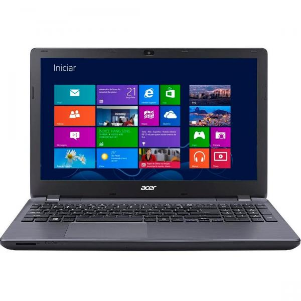 Notebook Acer Core I5 4GB HD 500GB 15.6 Polegadas Windows 8 E5-571-52ZK